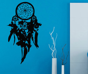 dream catchers, dreamcatcher decals, and indian amulets image