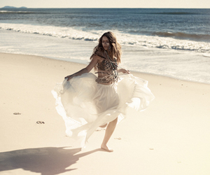 beach and gypsy image