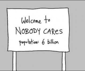 quotes, nobody cares, and care image