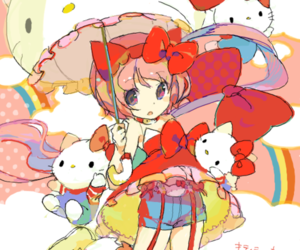 hello kitty, anime, and vocaloid image