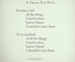 beautiful, fear, and I Love You image