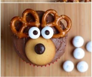 cupcake, christmas, and diy image