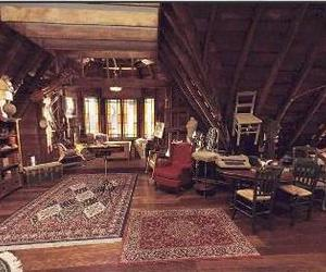 attic, charmed, and home image