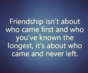 blue, friendship, and quote image