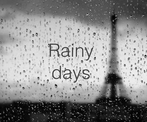 rain, paris, and rainy days image