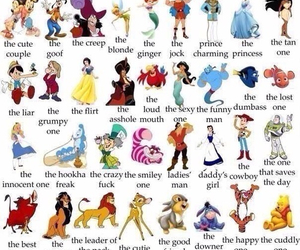 disney, friends, and characters image