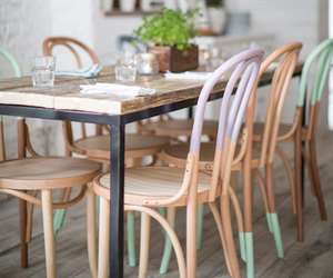 chairs, interior, and decor image