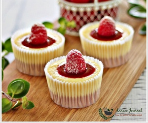 cake, compote, and cheesecake image