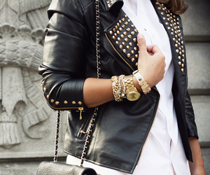 dope, glam, and leather image