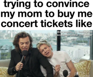 one direction, concert, and niall image