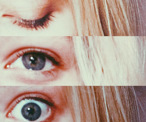 eyes, blonde, and cool image