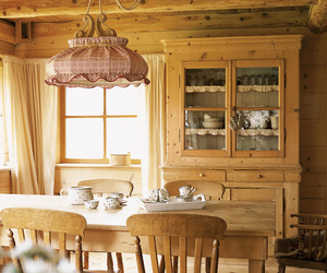 country, dining room, and sweet home image