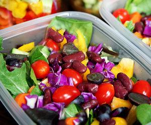 salad and healthy image