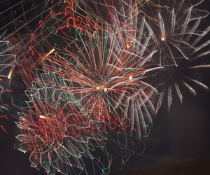 colors, fireworks, and lights image