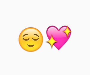 heart, sparkly, and emoji image