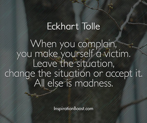 life quotes, change quotes, and eckhart tolle image