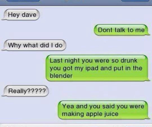 apple, drunk, and dave image
