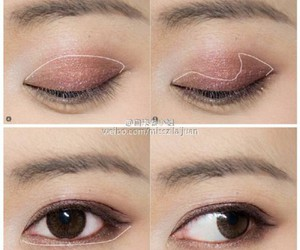 asian, beauty, and eyes image