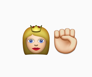 blonde girl, crown, and hands image