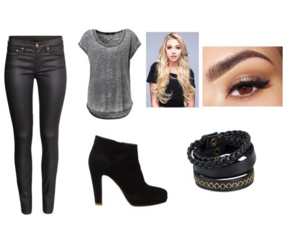 girl, outfit, and outfit of the day image