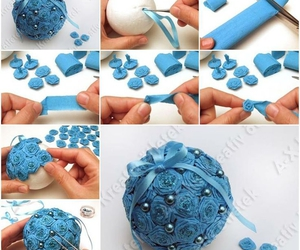 diy, christmas, and blue image