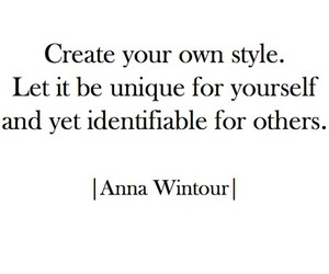 quote, style, and Anna Wintour image