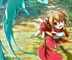 silica, sword art online, and anime image