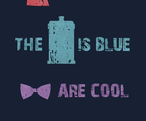 tardis, doctor who, and cool image