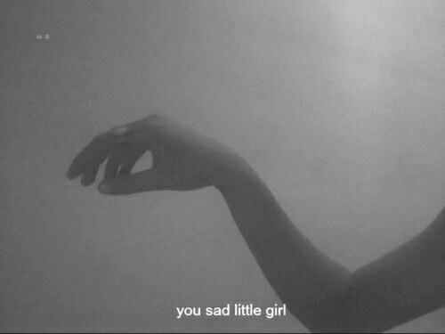 sad, girl, and grunge image