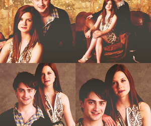 harry and ginny and harry potter image