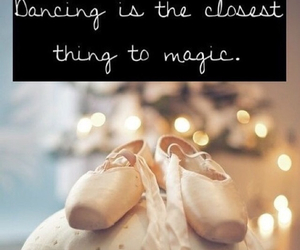 dance, ballet, and magic image