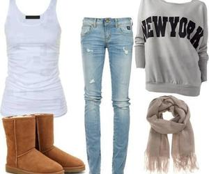 clothes, new york, and combination image