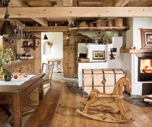 cottage, rustic, and country image