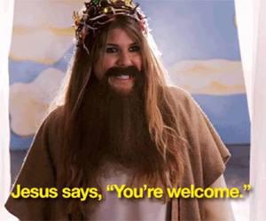 awkward, jesus, and sadie image