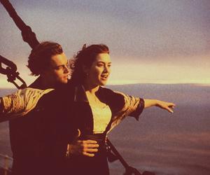 titanic, leonardo dicaprio, and rose image