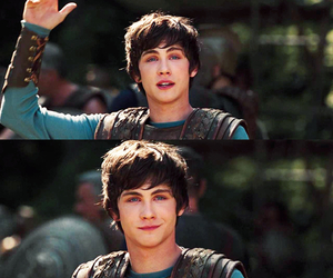 logan lerman, percy jackson, and boy image