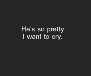 pretty, cry, and quotes image