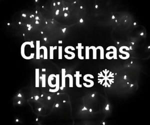 bright, christmas, and december image