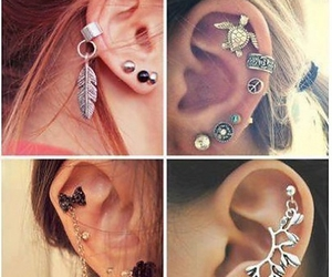 accessories, piercing, and trend image
