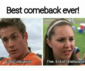 she's the man, funny, and comeback image