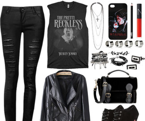 black, my chemical romance, and the pretty reckless image