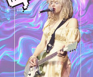 background, Courtney Love, and edit image