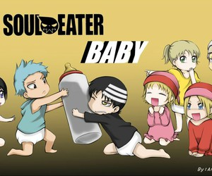 soul eater, kawaii, and anime image