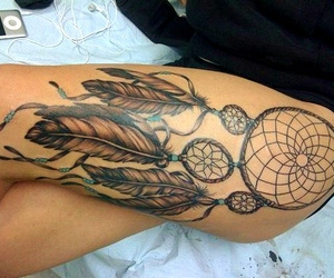 skinny, Dream, and dreamcatcher image