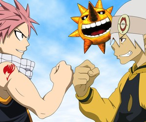 soul eater, fairy tail, and anime image