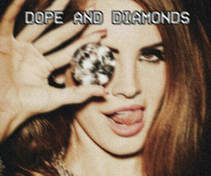 lana del rey, diamond, and lana image