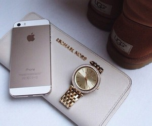 iphone, Michael Kors, and watch image