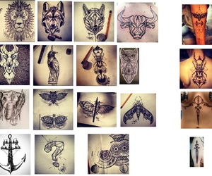 tiger, perfect, and tattoo image