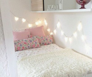 bedroom, christmas, and cosy image