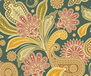 pattern and vintage image